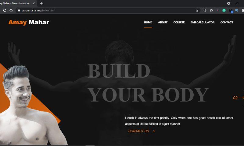 hyCorve - Amay Mahar - fitness instructor
