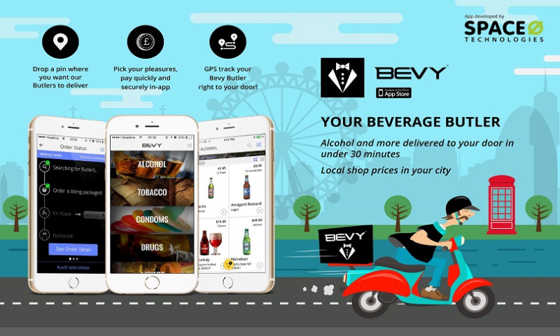 Space-O Technologies - Bevy – Your Beverage Butler