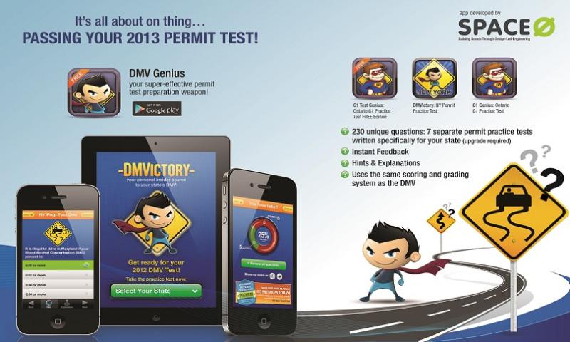 Space-O Technologies - DMV Genie Permit Practice Test