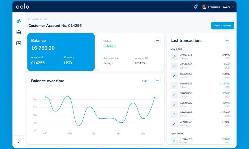 Adam Fard Studio - Banking App Design