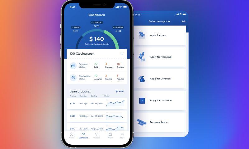 Adam Fard Studio - FinTech Lending Mobile App