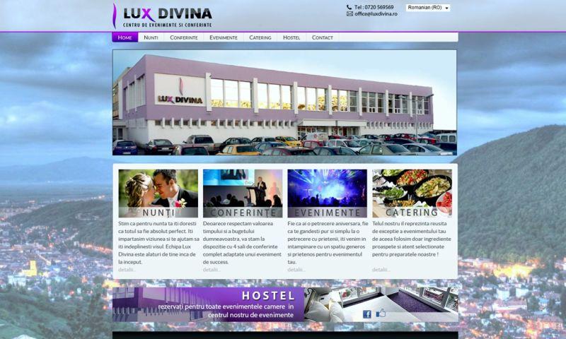 Webdesign-Brasov.ro - LUX DIVINA