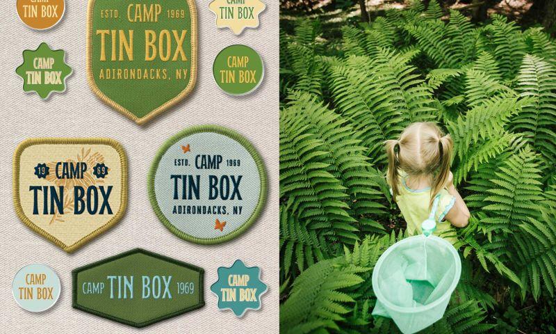 CC & Co. Studio - Brand Identity Design for Camp Tin Box