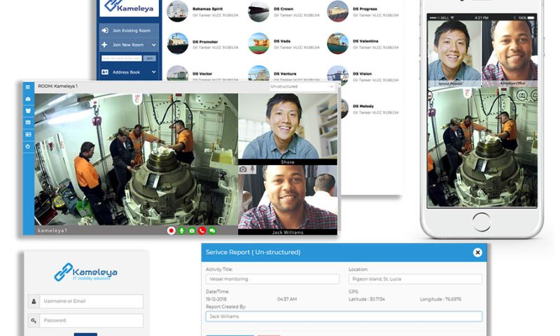 Prologic Technologies - Kameleya - Remote Troubleshooting, Inspection and Service Report Automation for Shipping Vessels