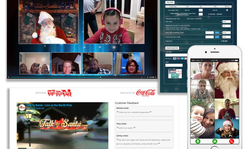 Prologic Technologies - TalktoSanta - Entertaining Live Video Call with Santa Claus for Kids and Family Members, during Christmas Season