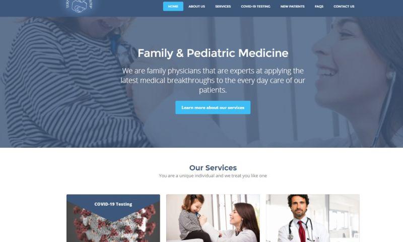 Jucebox Local Marketing Partners - Turnure Medical Group website