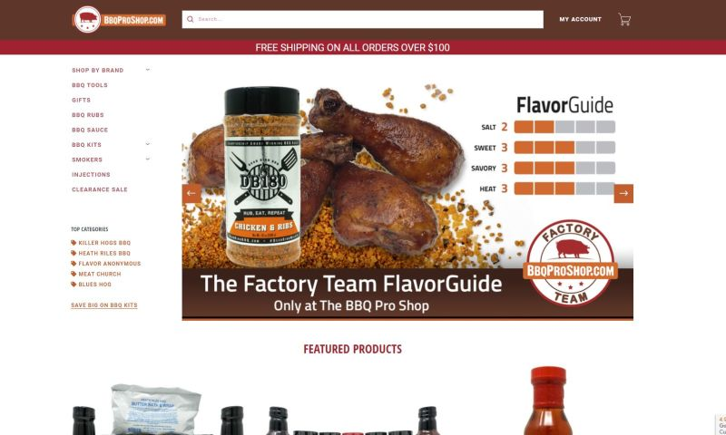 Internet Design & Publishing, Inc. - BBQ Pro Shop