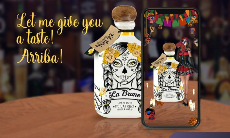 Argentics - Gamified AR app for a tequila brand