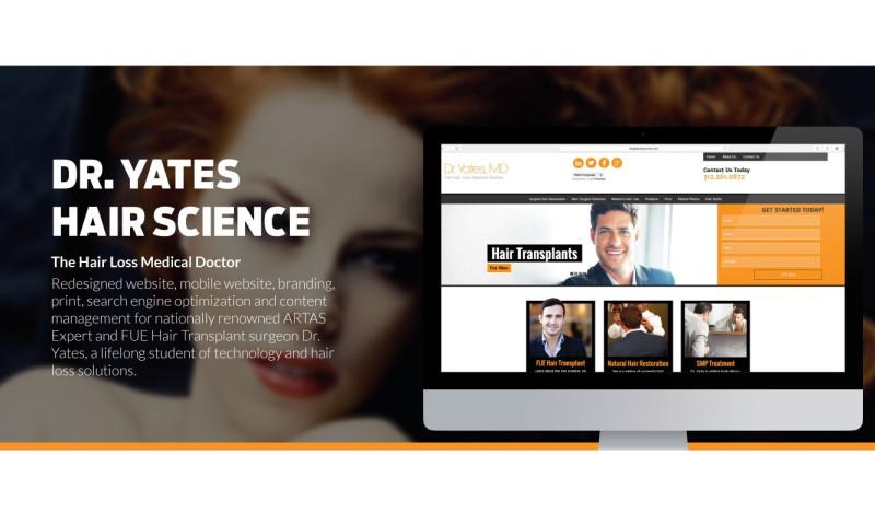 Olive Street Design LLC - Dr. Yates Hair Science
