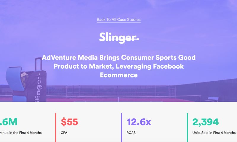 AdVenture Media Group - AdVenture Media Brings Consumer Sports Good Product to Market, Leveraging Facebook Ecommerce
