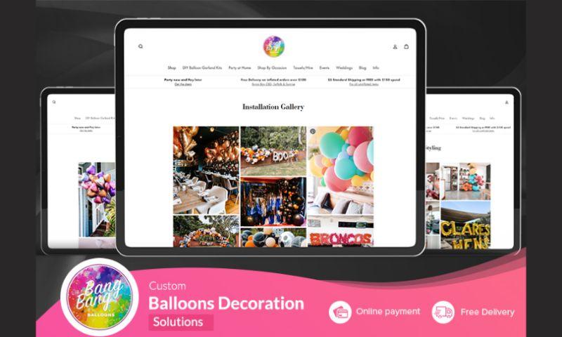 Emizen Tech Pvt. Ltd. - Bang Bang - Online Balloon Store