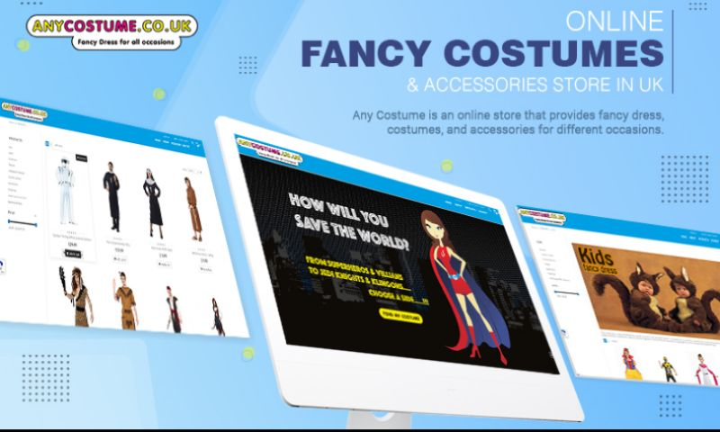 Emizen Tech Pvt. Ltd. - Any Costume - Online Fancy Costumes & Accessories Store in UK