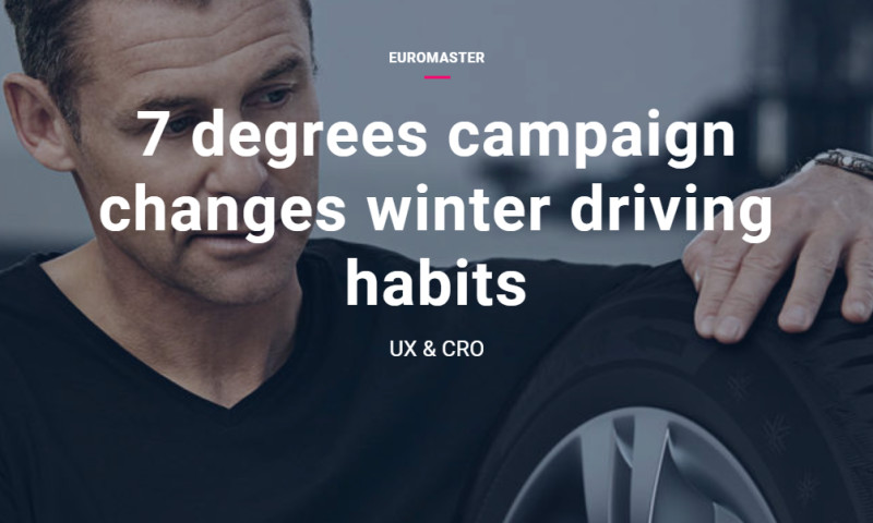 Artefact - Euromaster - 7 degrees campaign changes winter driving habits