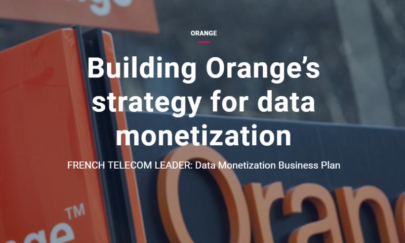 Artefact - Orange - Building Orange's strategy for data monetization