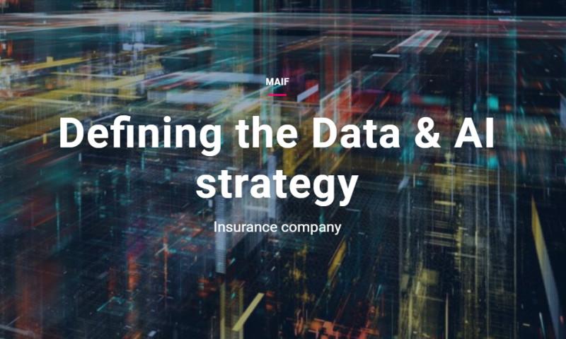 Artefact - MAIF - Defining the Data & AI strategy