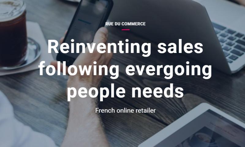 Artefact - RUE DU COMMERCE - Reinventing sales following evergoing people needs