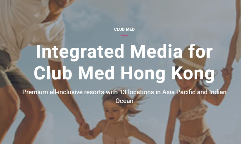 Artefact - Club Med - Integrated Media for Club Med Hong Kong
