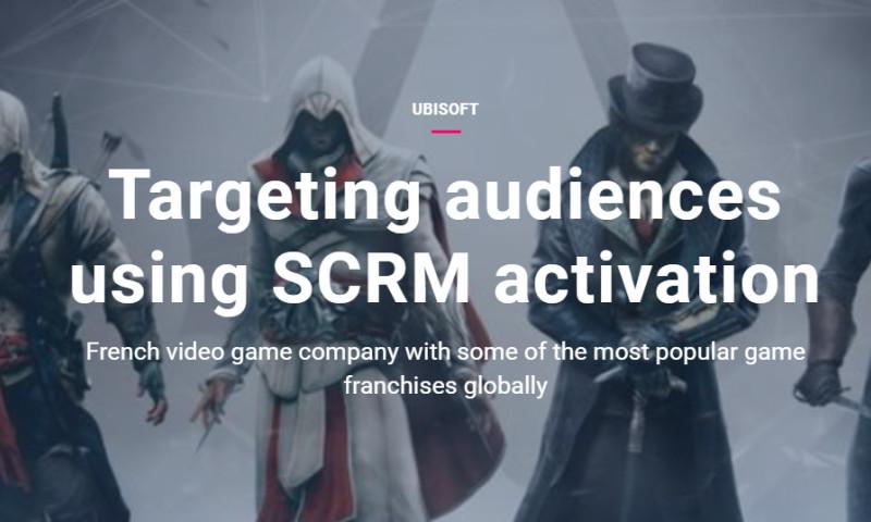 Artefact - Ubisoft - Targeting audiences using SCRM activation