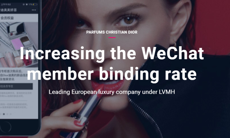 Artefact - Parfums Christian Dior - Increasing the WeChat member binding rate