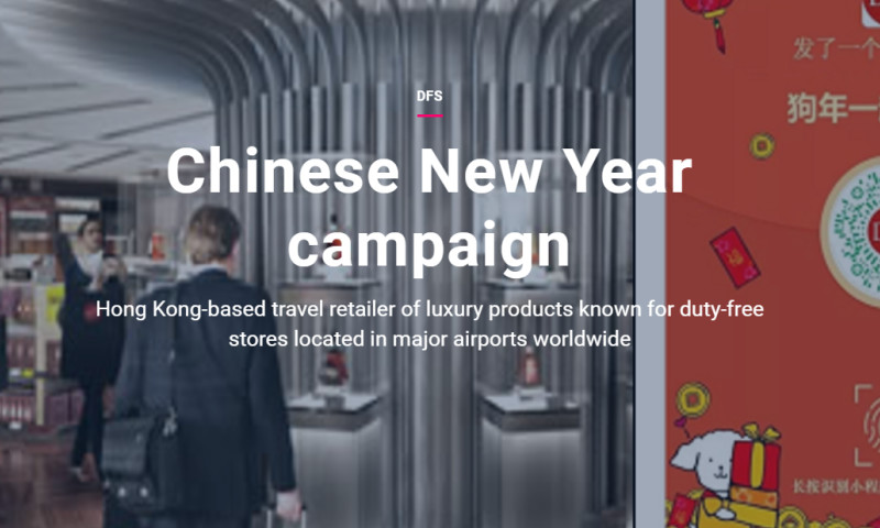 Artefact - DFS - Chinese New Year campaign