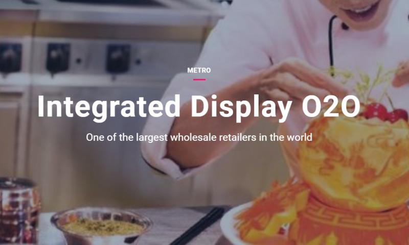 Artefact - Metro - Integrated Display O2O