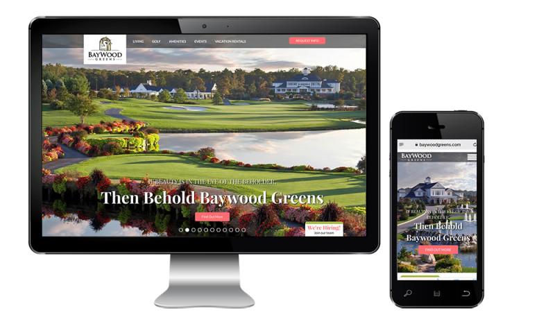 Inclind, Inc - Baywood Greens Drupal Website Redesign