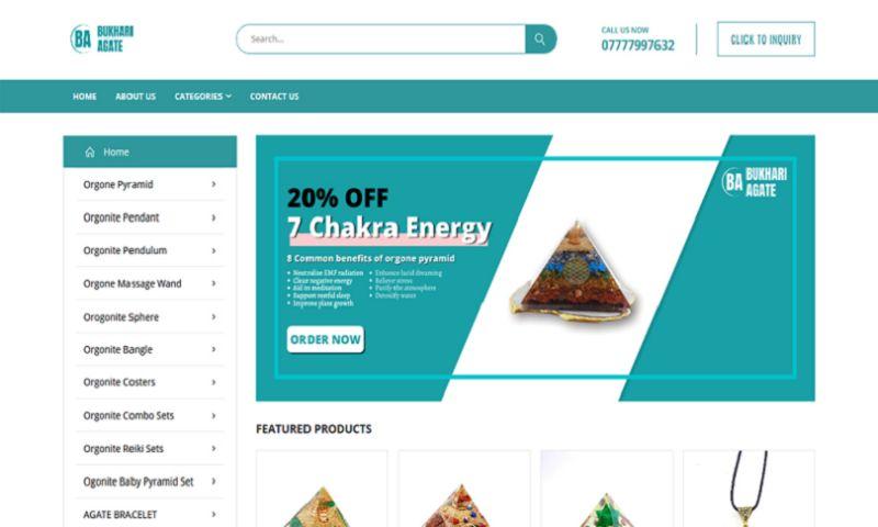 Digital Infoways - Bukhari Agate SEO Case Study