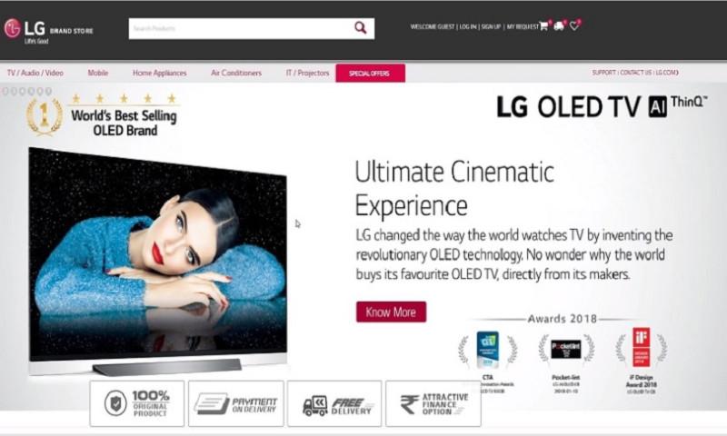 Wisitech InfoSolutions Pvt. Ltd. - LG Brand Store