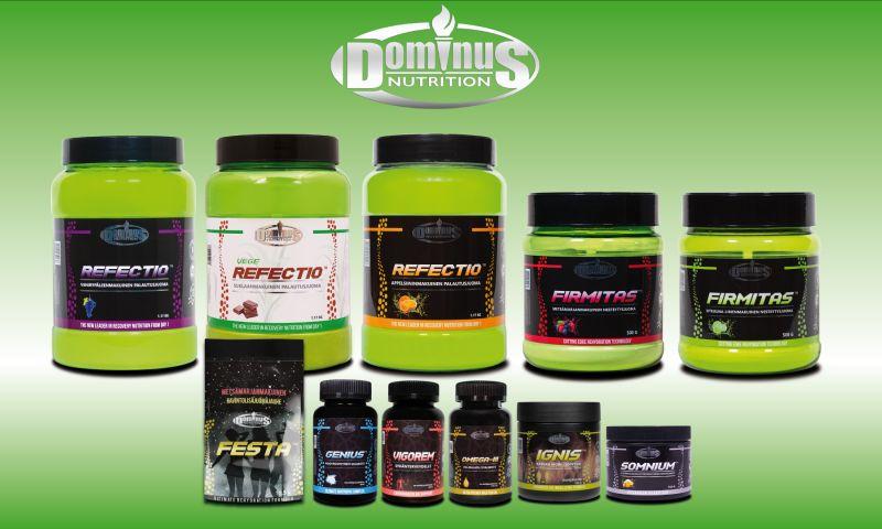 Mainostoimisto Speciaali - Dominus Nutrition