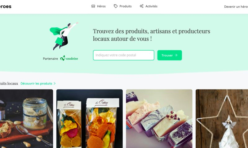Coteries SA - Supporting local economy by developing a web application