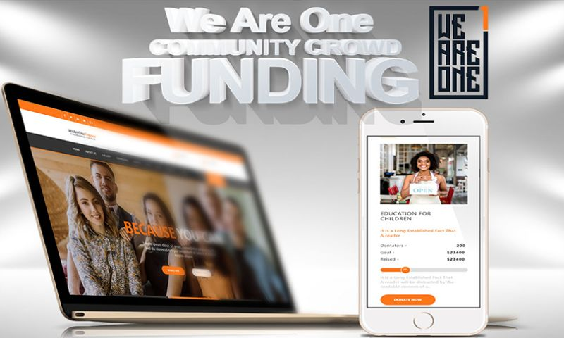 Standard American Web - We Are One - COMMUNITY CROWD FUNDING
