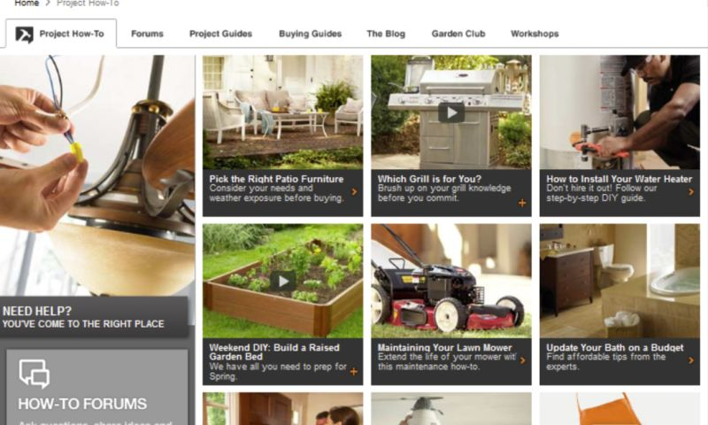 three squared - The Home Depot How-To Website