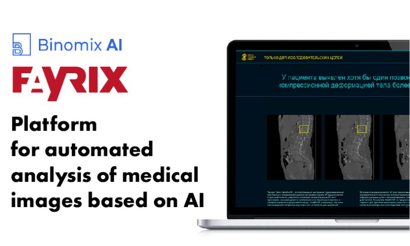 Fayrix Software - Platform for automated analysis of medical images based on AI