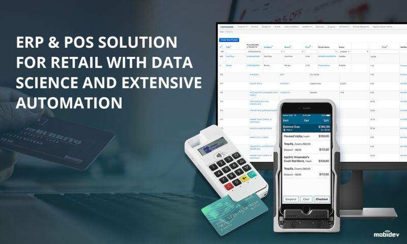 MobiDev - ERP & POS Solution for Retail with Data Science