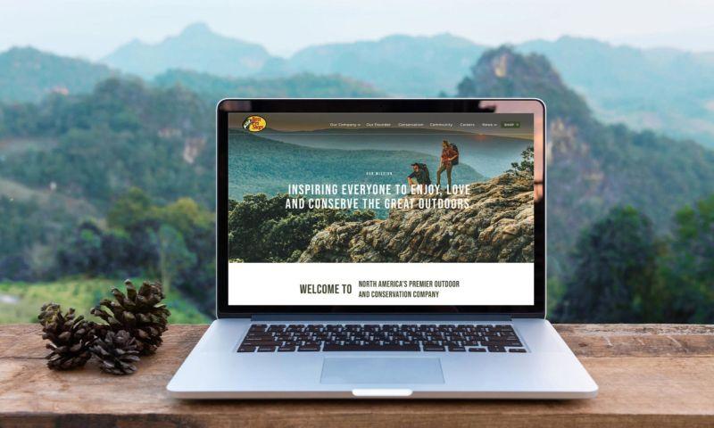Atomicdust - Bass Pro Shops Website Redesign