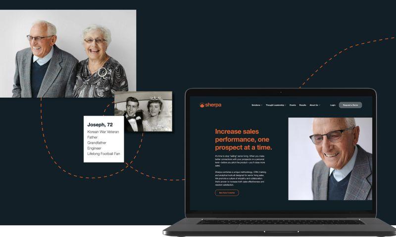 Atomicdust - Shepa CRM Website Design