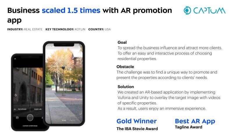 Umbrella IT - Captum - AR Photo to Video App