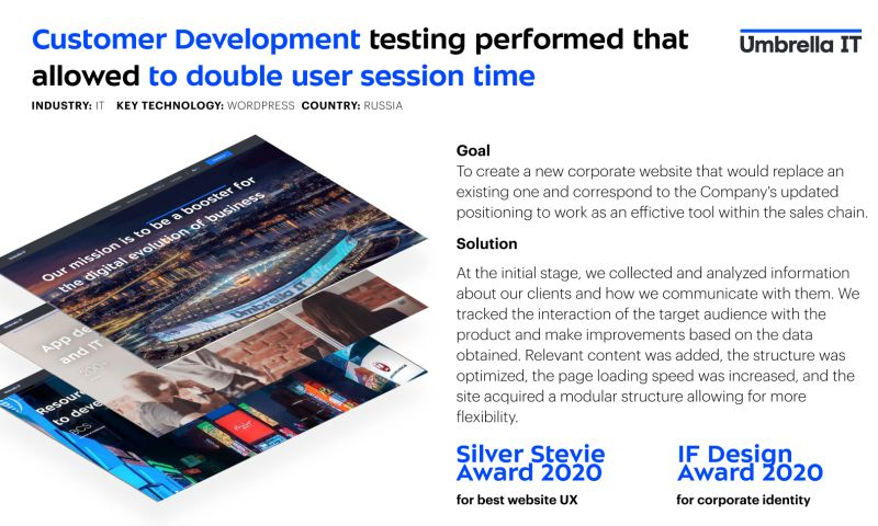 Umbrella IT - Umbrella IT corporate site