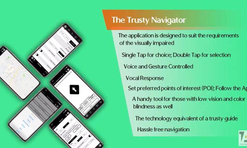 Travancore Analytics Pvt Ltd - App for Visually Impaired