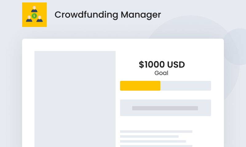 SpurIT - Crowdfunding Manager