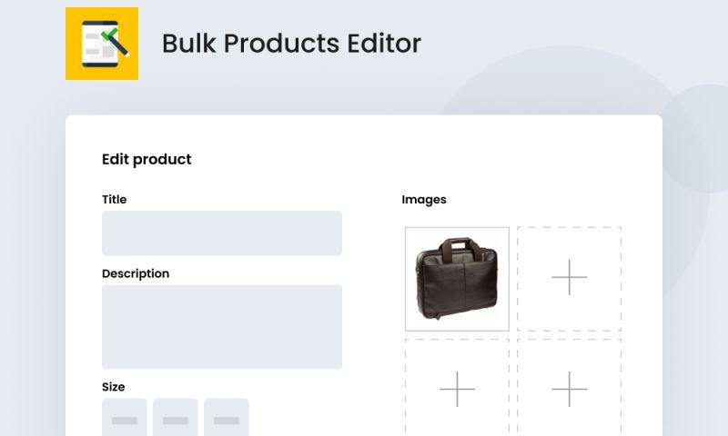 SpurIT - Bulk Products Editor