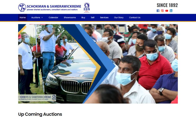 Cyber Concepts - Schokman and Samerawickreme is the leading auction house in Sri Lanka