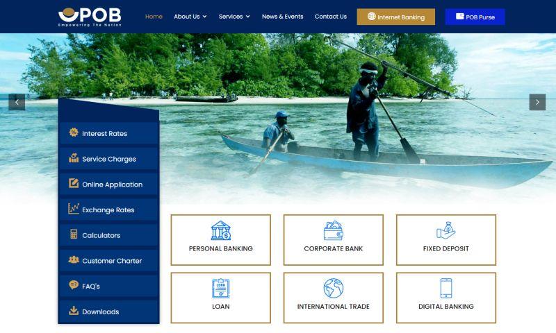 Cyber Concepts - Pan Oceanic Bank (POB) of the Solomon Island
