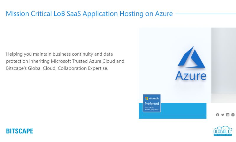 Bitscape - Microsoft Azure Services