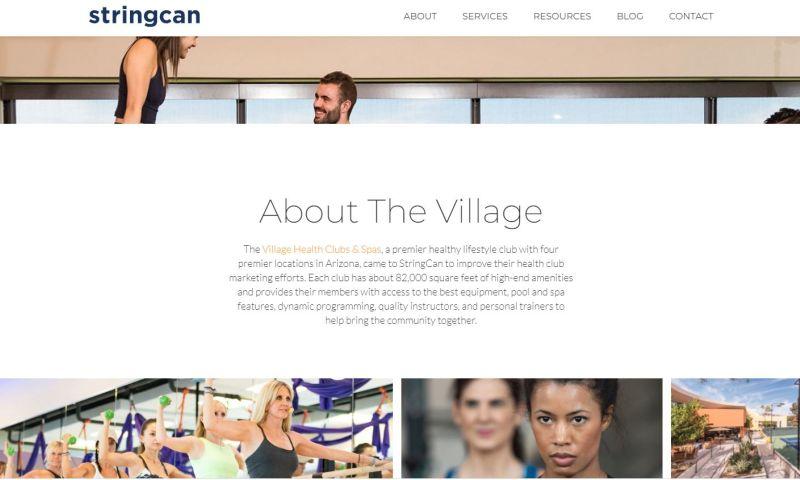 StringCan Interactive - Health Club Membership Increase