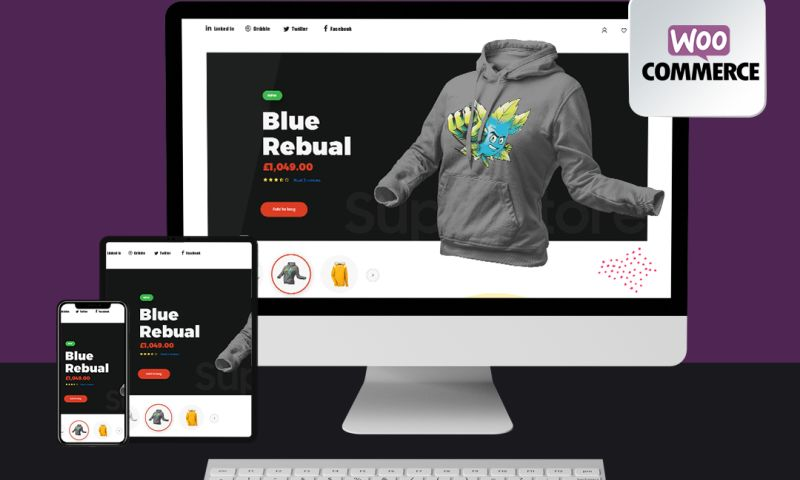 THE DIGITAL RETOUCH - eCommerce Web Development