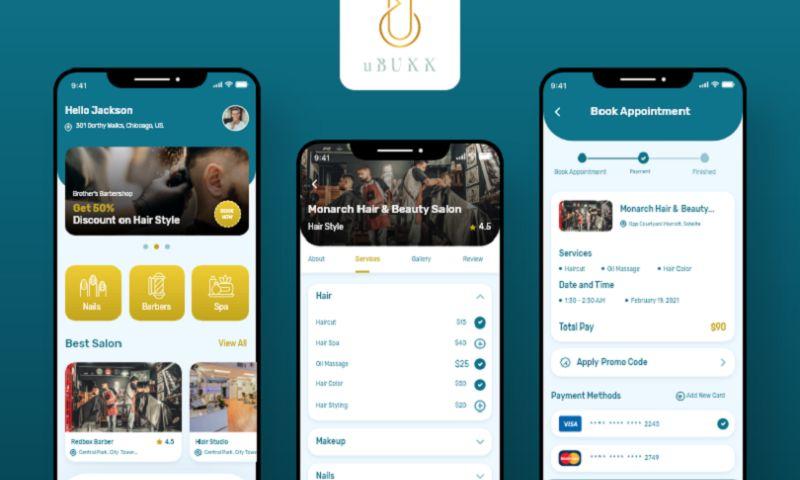 Arka Softwares - uBook - Spa & Salon Services App