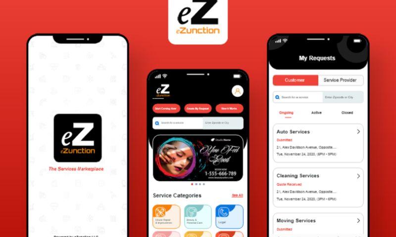 Arka Softwares - eZunction - Service Provider App