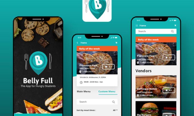 Arka Softwares - Belly Full - Food Delivery App