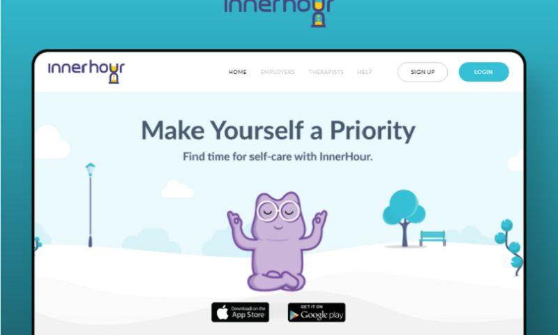 Arka Softwares - Inner Hour - Health & Well-being Website